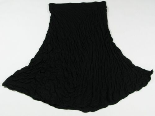 J JILL Size LP Petite L Black Textured Quilted Jer