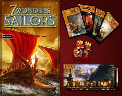 ✔ ツ ●•• 7 Wonders ••● ✩ 37 fan-made Lost Wonders ✩ NEU /& in bester Qualität
