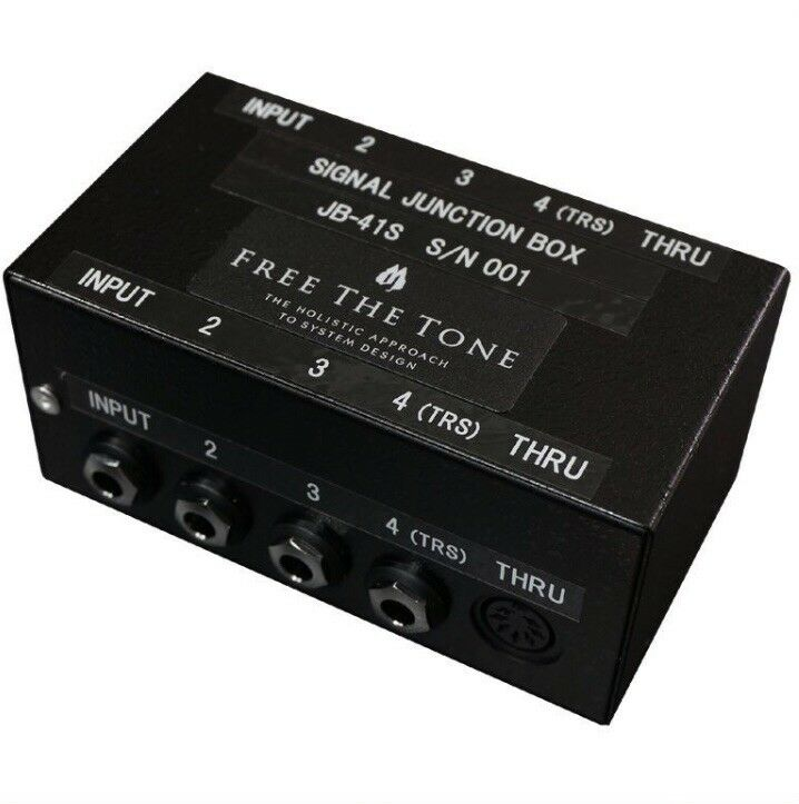 Free The Tone Signal Junction Box JB-41S NEW GUITAR EFFECTS PEDAL