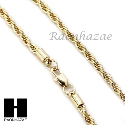 """Iced BLING LION FACE PENDANT DIAMOND CUT 30/"""" CUBAN ROPE CHAIN NECKLACE G36"""