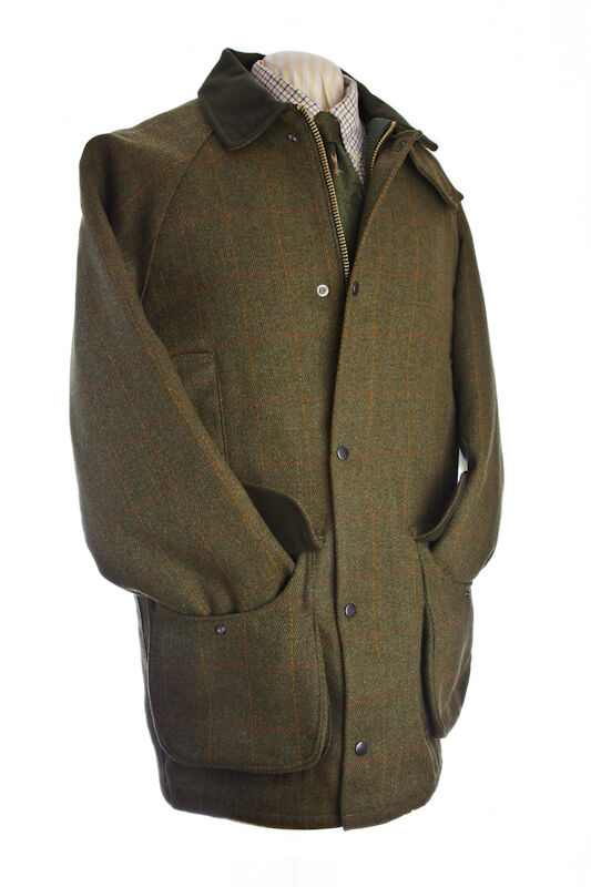Imperméable keeper manteau tweed tir manteau keeper équitation veste/bizes XS-6XL nouveau 9baf2f