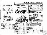 1984-1985-1986-1987-1988-1990-1991-DODGE-COLT-BODY-PARTS-LIST-CRASH-SHEETS