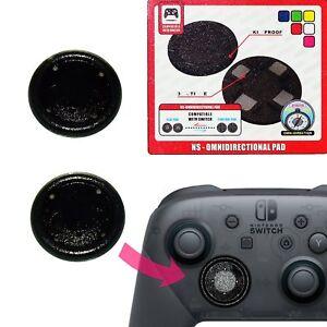 Details about Project Design Flat Button for Nintendo Switch Pro Controller  Transparent Black
