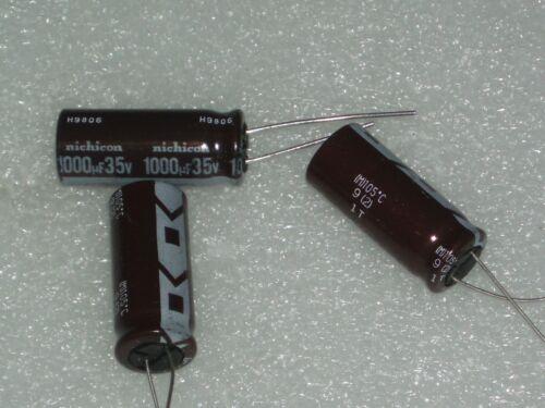 3 x Electrolytic Capacitor 1000 uF x 35 V by NICHICON