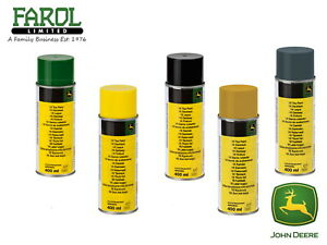 John-Deere-Spray-Paint-400ml-Green-Yellow-Black-Primer-Genuine-Product-Aerosol