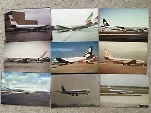"9x Boeing 707 5"" x 3"" photo"