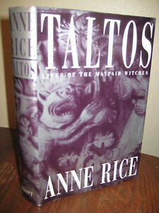 1st-Edition-TALTOS-Anne-Rice-HORROR-First-Printing-OCCULT-Mayfair-Witches