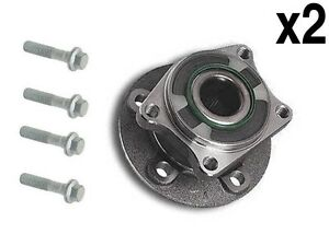 Volvo-01-09-Wheel-Hub-Bearing-Bolts-Rear-L-R-x2-GMB-s-60-s-80-v-xc-70