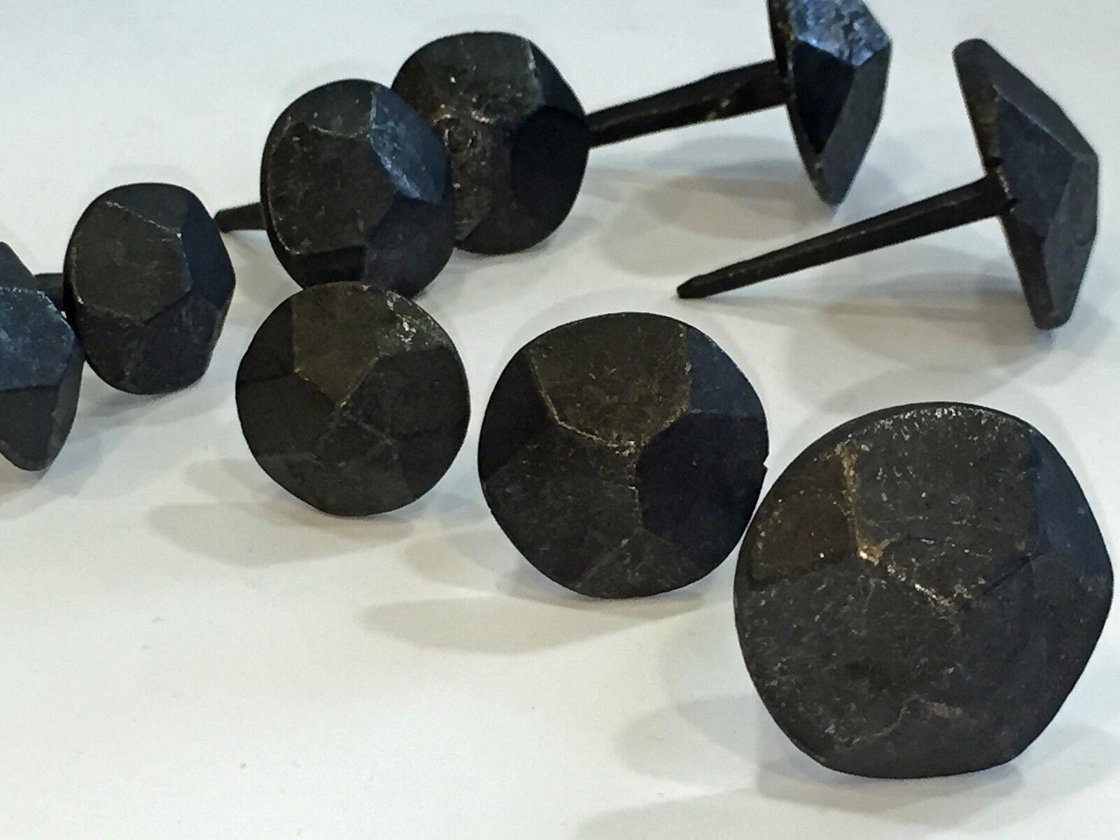 ZierNägel Zierkopfnägel HANDgeschmiedet made in Germany rustikal schwarz