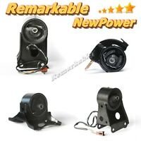 G077 Transmission Engine Motor Mount Kit Solenoid For 00-01 Nissan Maxima 3.0l