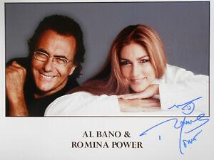 ROMINA POWER original signiert – GROSSFOTO !!!