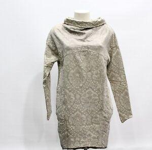 21a56318126b Caricamento dell immagine in corso JIJIL-Maglia-Vestito-Donna-Tessuto- Damascato