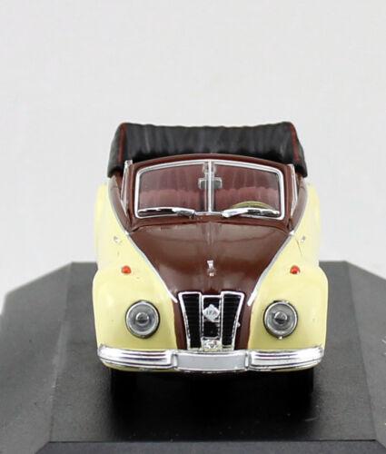 IFA f9 cabrio beige marrón 1:43 atlas maqueta de coche 007