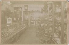 ORIGINAL 1890S PHOTOGRAPH OF VINTAGE JEWELRY STORE OF WEST CHESTER, PA