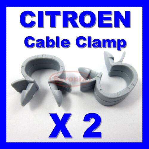 CITROEN cable Collier De Serrage Câbles Câblage Loom Harnais Clip Holder