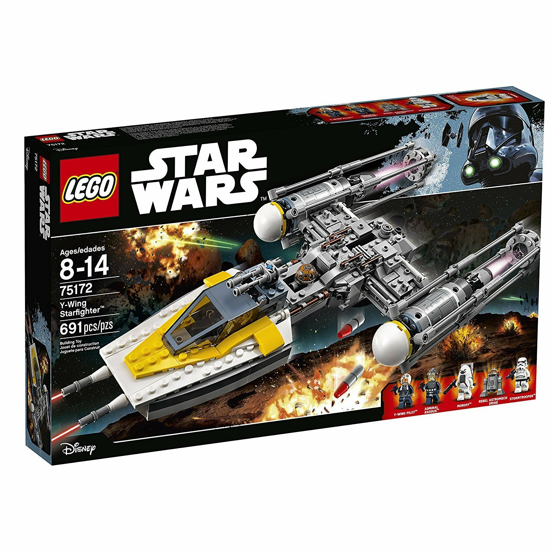 LEGO estrella guerras Y-Wing estrellacombatiente 75172 costruzione Kit (691  Pieces)  Negozio 2018