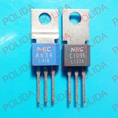 1pairs OR 2PCS  Transistor NEC TO-202 2SA634//2SC1096 A634//C1096