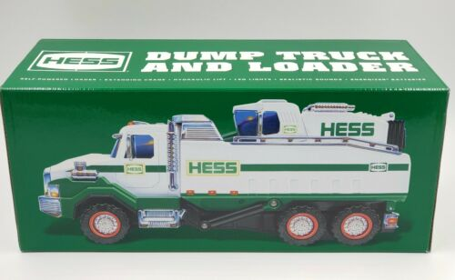 2017 HESS DUMP TRUCK AND LOADER Collectibles Fast Shipping NEW