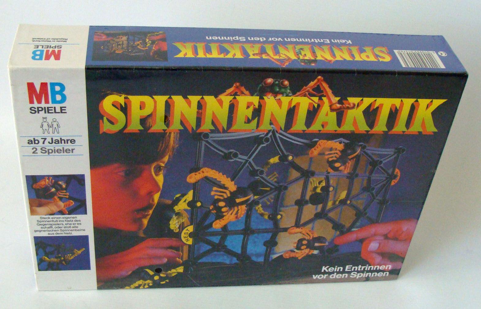 MB Spiele 494000 - Spinnentaktik Für 2 Spieler 7+ - Neu