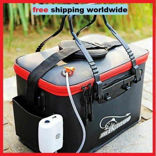Fishing Box Tank Bucket Camping Portable Folding Thicken Live  Outdoor Fishing