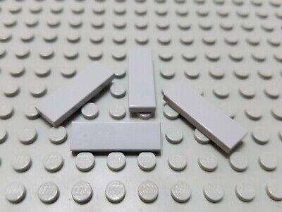 Lego Dark Bluish Gray 1x3 Tiles Smooth Finishing Flat Modular Buildings 50 Pcs