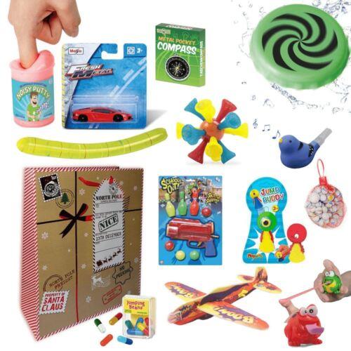 Garçons Noël Stocking Filler Cadeau Set 2 (11 objets inclus)