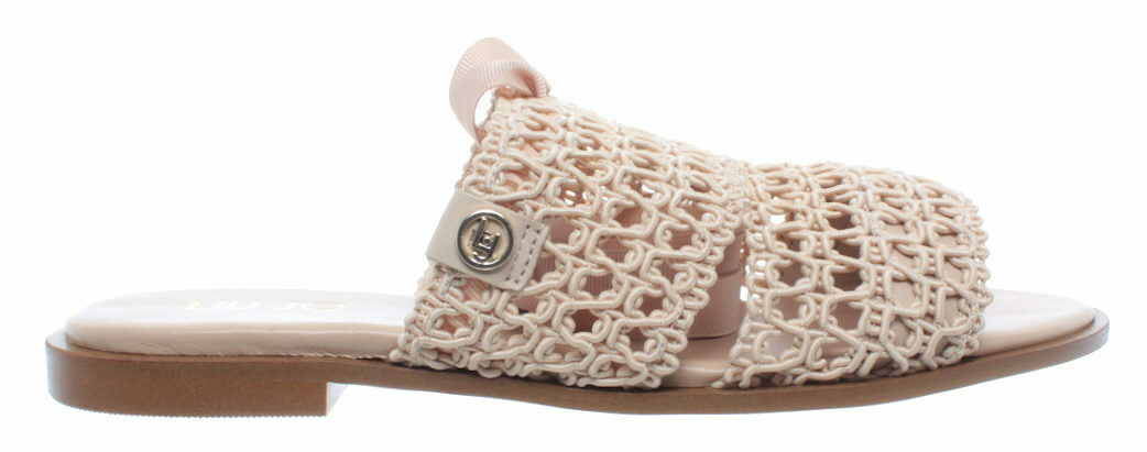 chaussures Sandali femmes LIU JO Milano Susan 07 Sandal Nappa Leather Sand Sabbia
