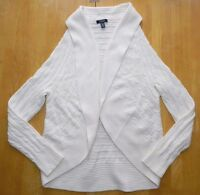 $86 - Womens Beige Open Front Cardigan Sweater = Chaps = Size 3x = Ab91