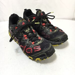 27c42694ac1ce Adidas Vigor TR 3 Mens 8.5 Black Red Lace Up Athletic Trail Running ...