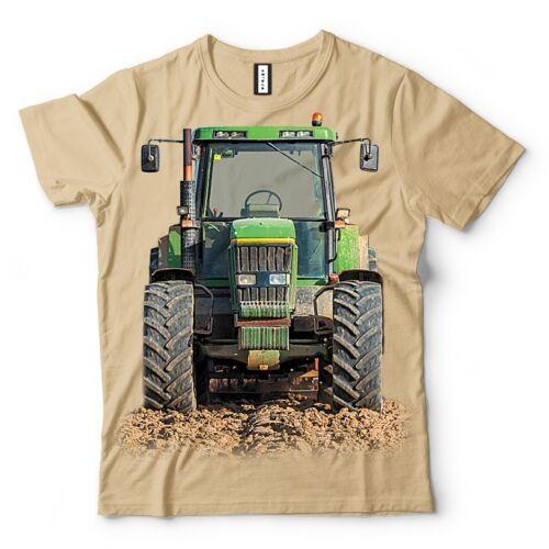 T shirt Traktor Motiv Freizeit Kurzarm Damen Herren Kinder XS S M L XL NEU 144