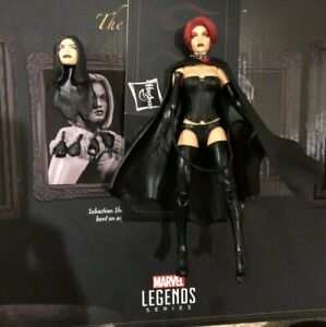 "Hellfire Club 6"" Black Queen Jean Grey Selene Figure 2020 SDCC Marvel Legends"
