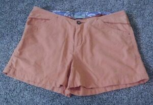 Horny-Toad-Toad-amp-Co-Women-039-s-Shorts-Size-4-Salmon-Reddish-Brown