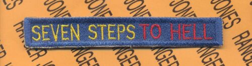 """7th ARMY /""""SEVEN STEPS TO HELL/"""" Tab #1 Color"""
