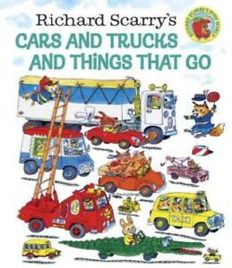 Richard-Scarry-039-s-Cars-and-Trucks-and-Things-That-Go-Hardcover-by-Scarry-Ric