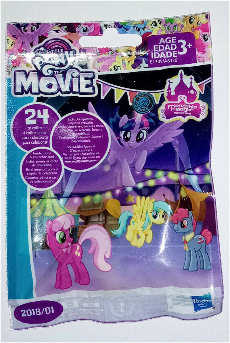 My Little Pony The Movie Blind Bag 2018/01 2 bags & 4 bags