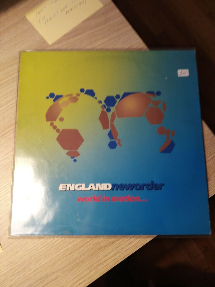 """Maxi-single 12"""", New Order, World in motion"""
