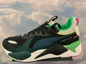 Details about Puma RS-X Toys Reinvention Running System Black White Green  GS Men Sz 369449_01