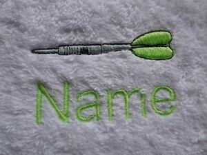 DART-e-nome-personalizzato-ricamato-su-asciugamani-accappatoi-da-bagno-asciugamani-con-Cappuccio