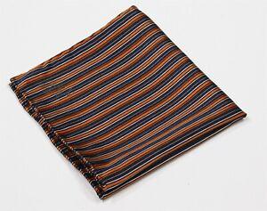 Bijan-Beverly-Hills-Navy-Orange-Striped-Hand-Rolled-Silk-Pocket-Square