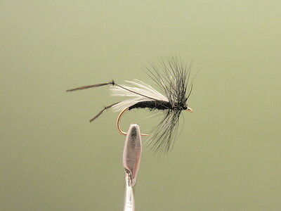 Hawthorn Fishing Flies, 6 Pack Hawthorn dry fly, Choice of sizes, Fly Fishing
