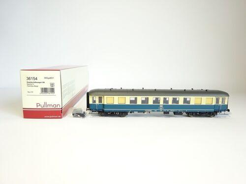 embalaje original DB Pullman h0 36154 nuevo sociedad carro azul-beige