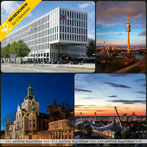 3-Tage-2P-4-S-H4-Hotel-Muenchen-Bayern-Kurzurlaub-Wellness-Reiseschein-Reise-City