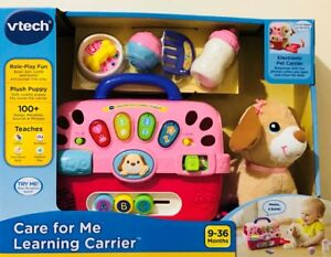 Details about VTech Care for Me Learning Carrier Toy Ages 9 36 Months NEW