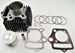 52.4mm Cylinder & Piston Kit With Rings & Gaskets For 110cc Atv Dirt Bike Etc.