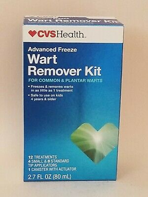 Cvs Health Wart Remover Kit 12 Treatments 2 7 Fl Oz Exp 02 2021