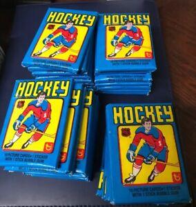 1-1979-80-Topps-Hockey-Wax-Pack-From-Box-Wayne-Gretzky-Rookie-Rc