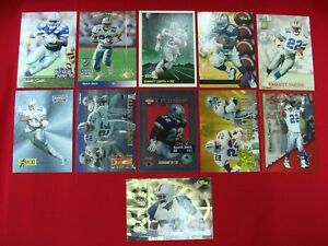 EMMITT-SMITH-11-DIFF-FOOTBALL-CARDS-DALLAS-COWBOYS-MUST-SEE-GREAT-CONDITION