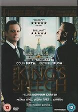 THE KING'S SPEECH AND MADNESS OF KING GEORGE DVD INCLUDES SLIPCASE KINGS SPEECH