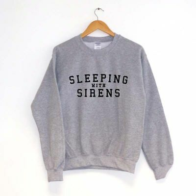 SWEATSHIRT JUMPER inspired by band SLEEPING WITH SIRENS SWEATER