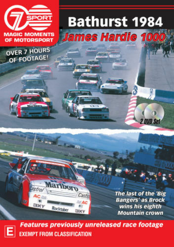 Magic Moments of Motorsport: Bathurst 1984 DVD R4 New Sealed